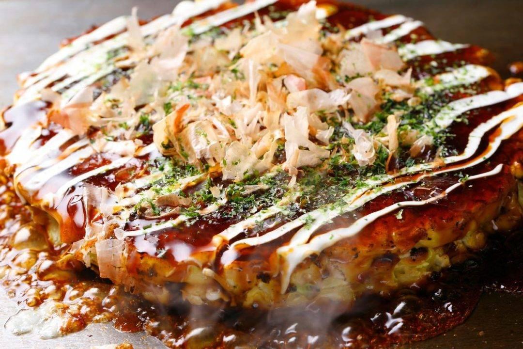 Okonomiyaki saludable