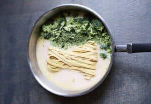 Spaguetti con Brócoli