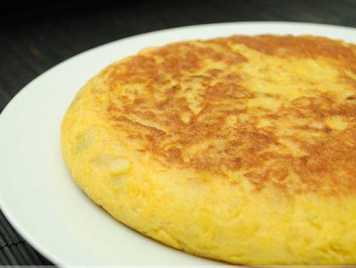 Tortilla ligera de patata