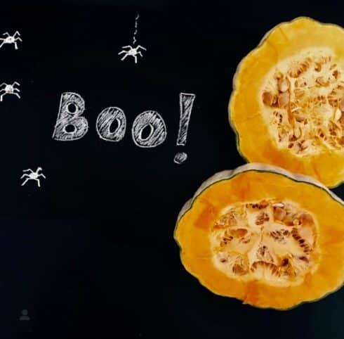 Ingredientes Pastel de calabaza halloween nutt