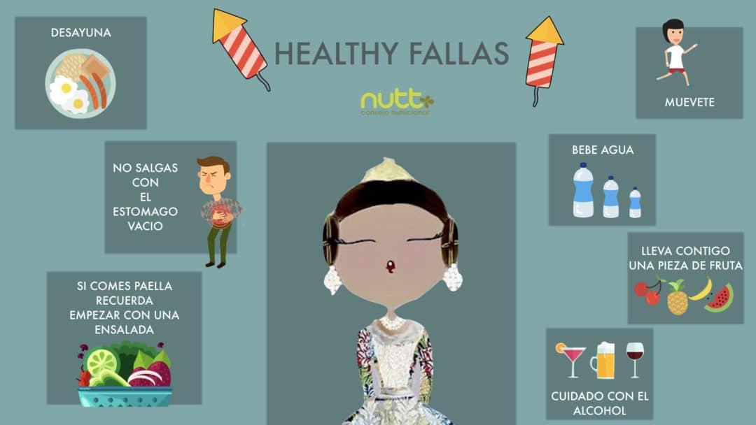 Tips para Fallas saludables