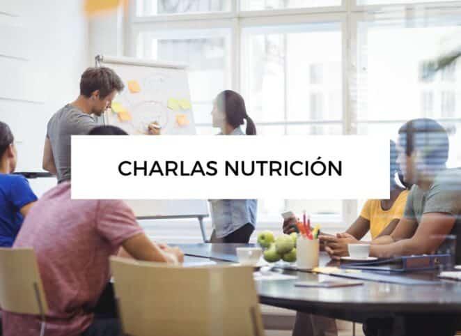 Charlas de nutricion en empresa