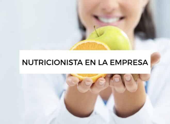 Nutricionista en la empresa
