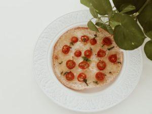 Pizza rapida receta