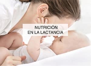 Nutricion en la lactancia
