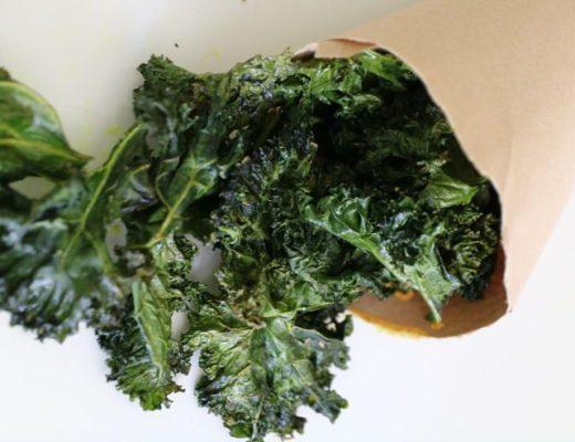Chips de kale portada
