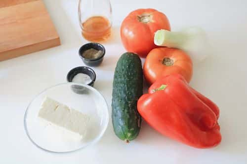 Ingredientes Ensalada búlgara