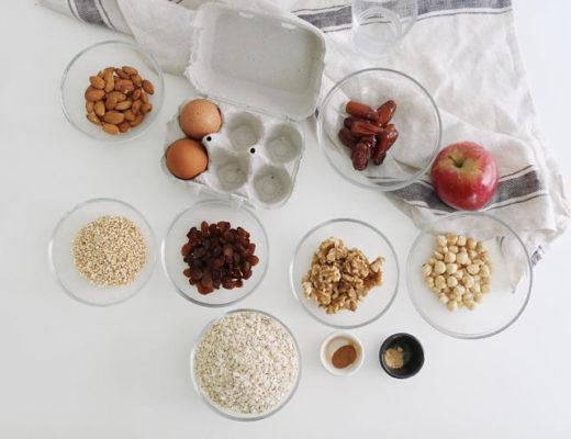 Granola saludable sin azúcar