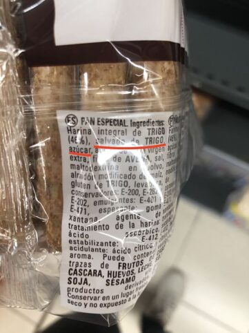Pan integral etiqueta 1