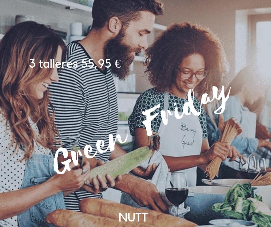 ·3 Talleres de cocina saludable