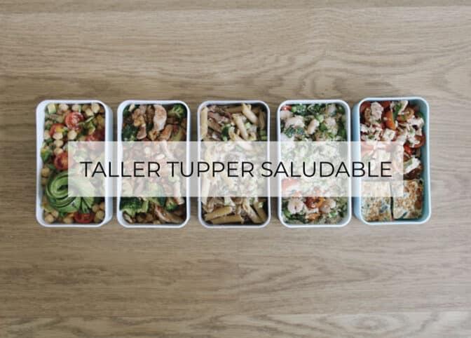 Taller de Tupper saludable Valencia
