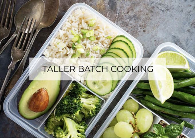 Taller Batch Cooking Valencia