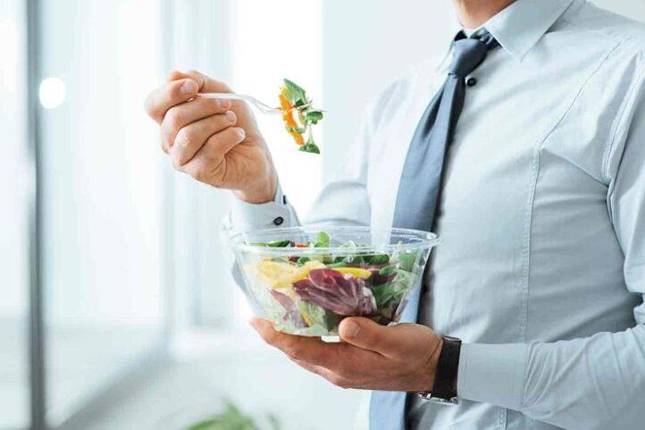 Alimentación saludable en el trabajo