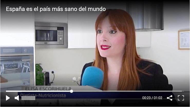 España el país más sano del Mundo