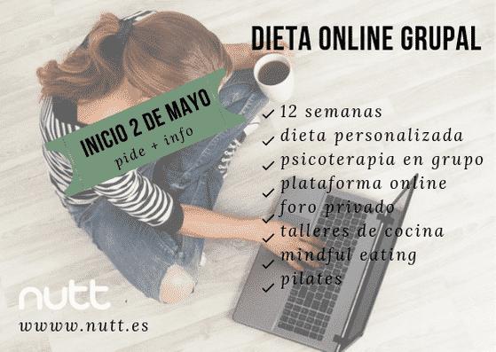 Dieta online grupal nutt aula de nutrición