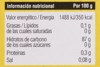 maíz engorda harina valor nutricional