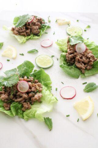 Ingredientes Ternera San Choy Bau