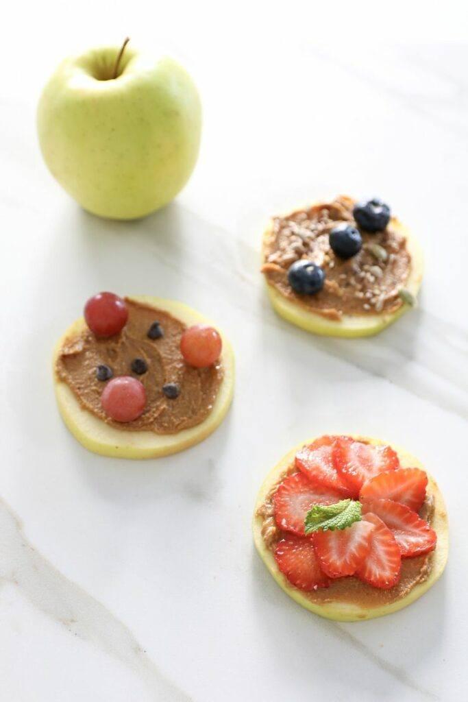 Fruta meriendas saludables