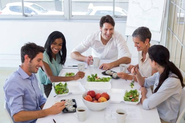 Charla nutrición empresas