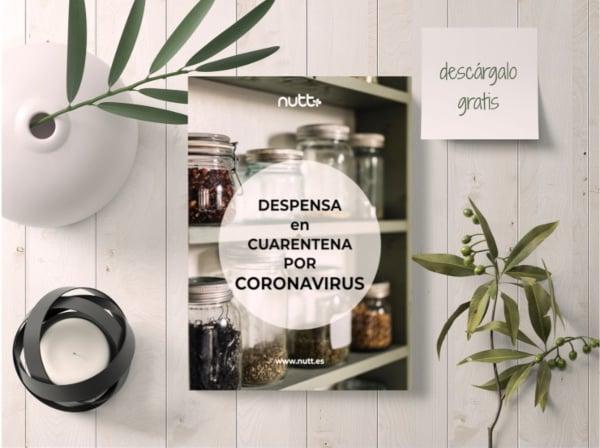 eBook despensa para cuarentena por coronavirus