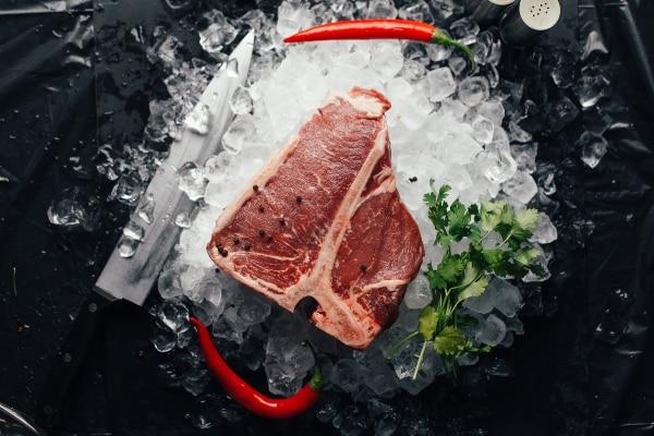 carne despensa para cuarentena por coronavirus