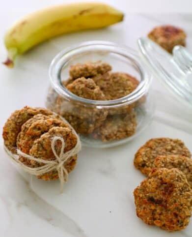 Receta galletas de avena y plátano