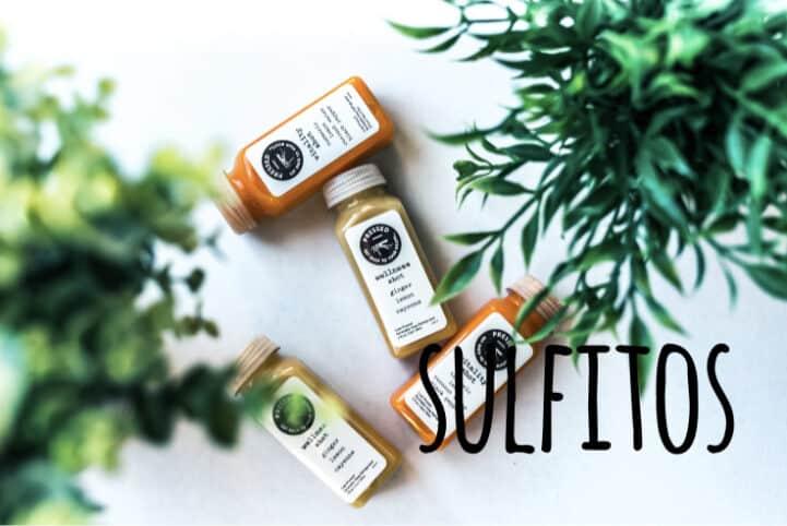 Sulfitos en alimentos