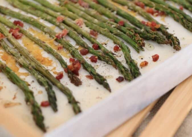 Espárragos con parmesano Nutricionista Valencia