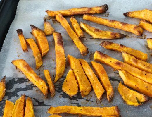 Chips de boniato al horno nutricionista Valencia