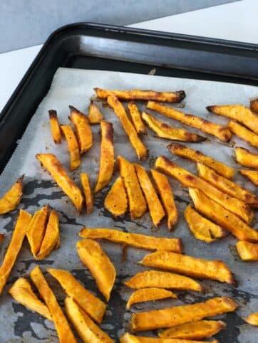 Chips de boniato al horno nutricionista Valencia Elisa Escorihuela