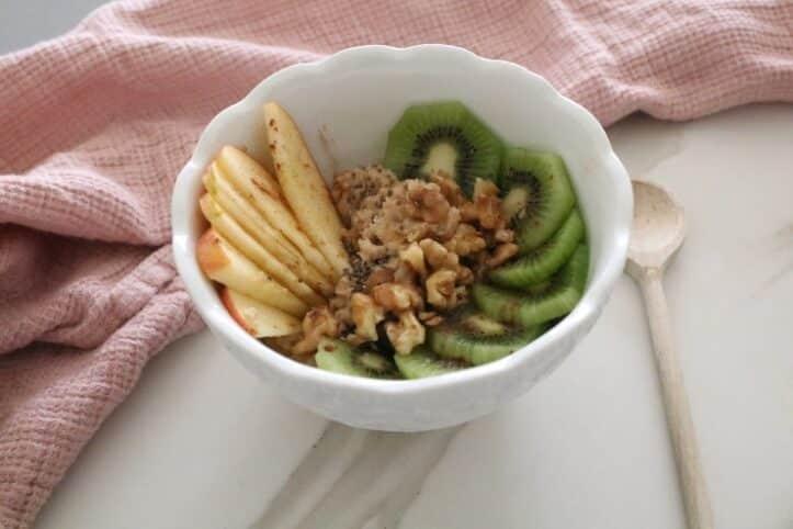 Cómo hacer un porridge nutricionista Valencia