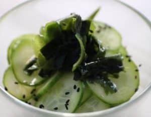 Ensalada de pepino asiática nutricionista Valencia
