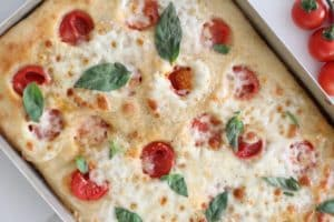 Focaccia de tomate y albahaca nutricionista nutt valencia