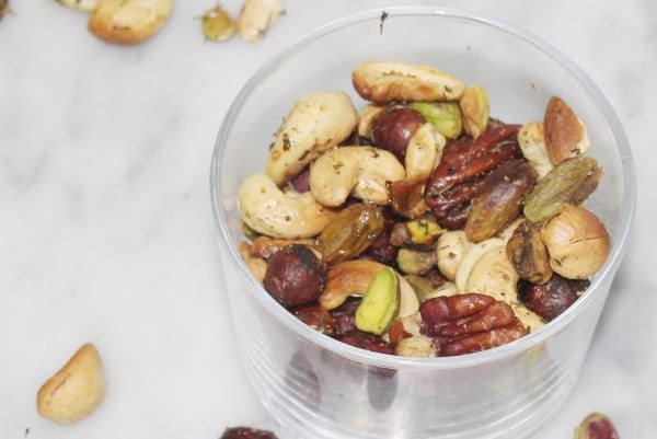 mix de frutos secos especiados nutricionista valencia