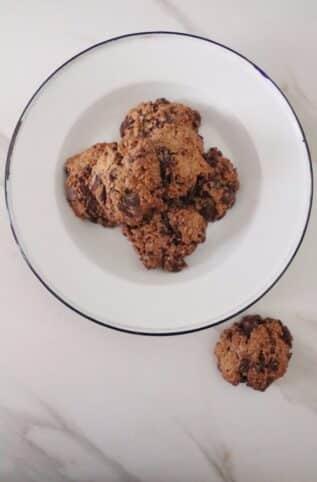 Ingredientes Cookies saludables nutricionista valencia Elisa Escorihuela