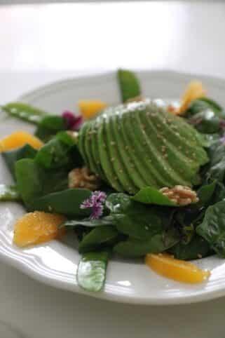 Ingredientes Ensalada de espinacas nutricionista