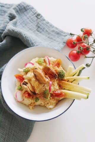Ingredientes Hummus canalla by Sergio Sierra nutricionista Valencia