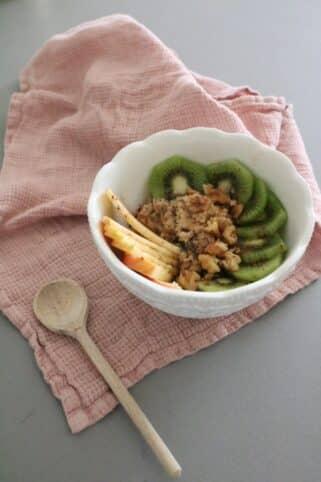 Ingredientes porridge nutricionista Valencia