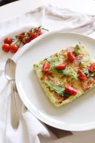 Ingredientes sandwich de patata y brócoli nutricionista Valencia