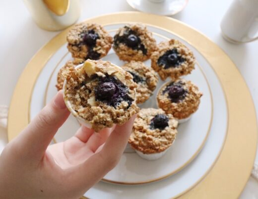 Muffins de manzana y avena nutricionista Valencia