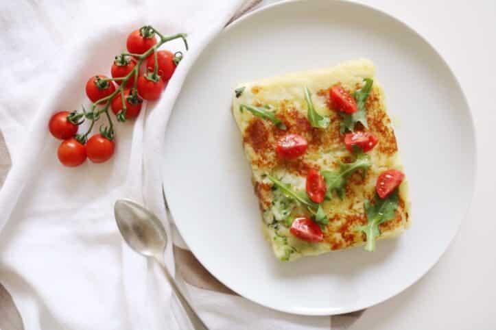 Sandwich de patata y brócoli nutricionista Valencia