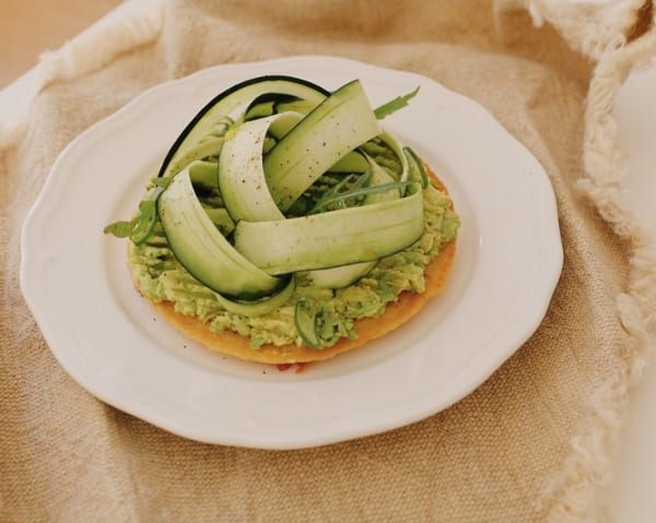 Socca vegana saludable nutricionista valencia