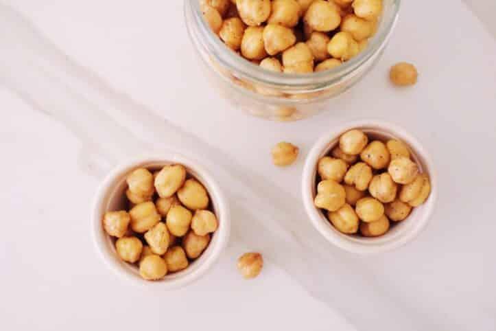 Snack de garbanzos al curry nutricionista Valencia Nutt