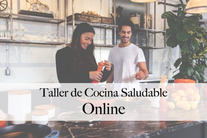 Taller de cocina saludable online Nutt