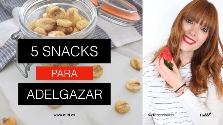 5 snacks para adelgazar en verano