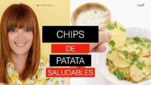 Chips de patata saludables Nutt
