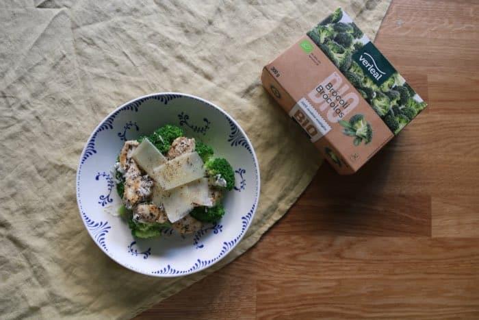 Ensalada de brocoli verleal