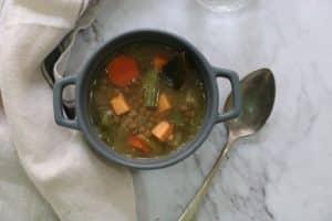 Lentejas estofadas receta nutricionista valencia Nutt