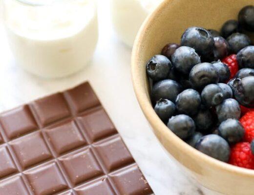Helado de yogurt y frutos rojos nutricionista valencia