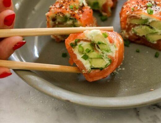 rollitos de salmon nutricionista valencia